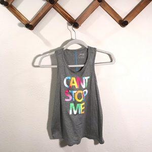 """Danskin   Like new  """"Can't stop me"""" logo t…"""